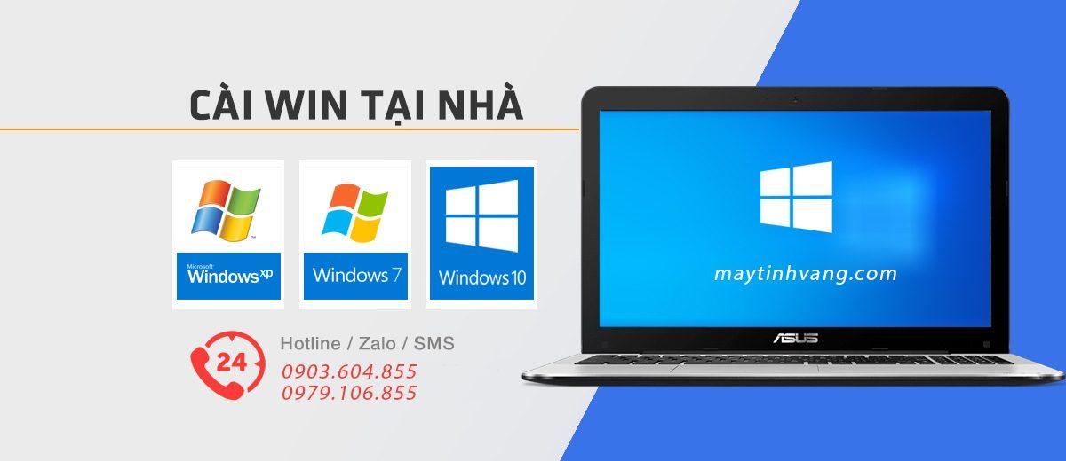 Dịch vụ cài win tại nhà HCM nhanh - Cài phần mềm miễn phí
