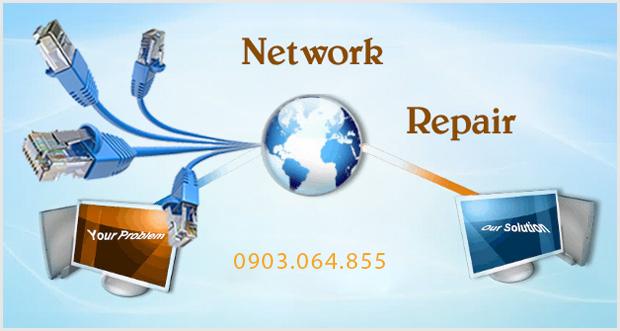 Sửa mạng internet tại nhà bạn có thể trực tiếp giám sát chất lượng công việc