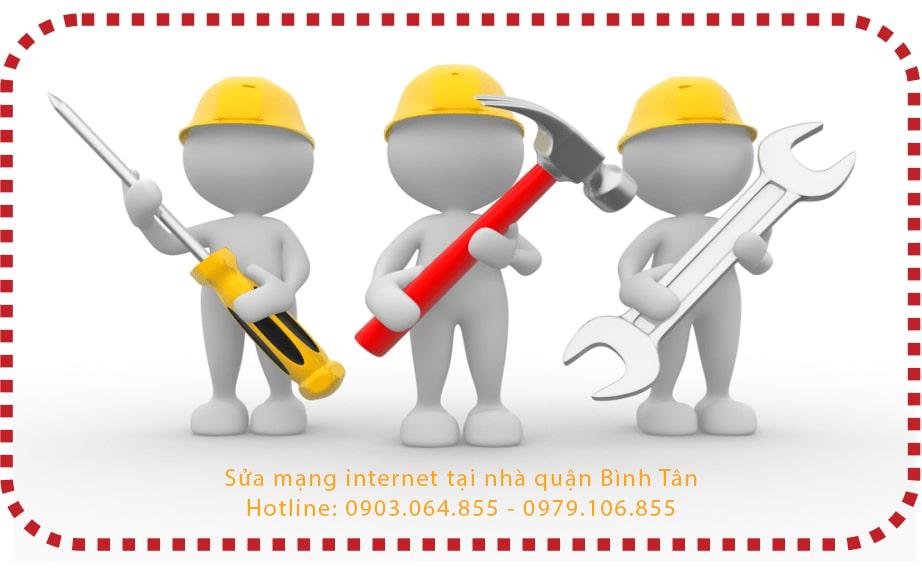 Sửa mạng internet tại nhà quận bình tân - Sửa wifi Lan
