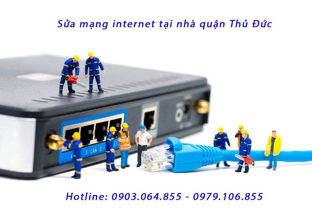 Sửa mạng internet tại nhà quận thủ đức - Wifi mất kết nối